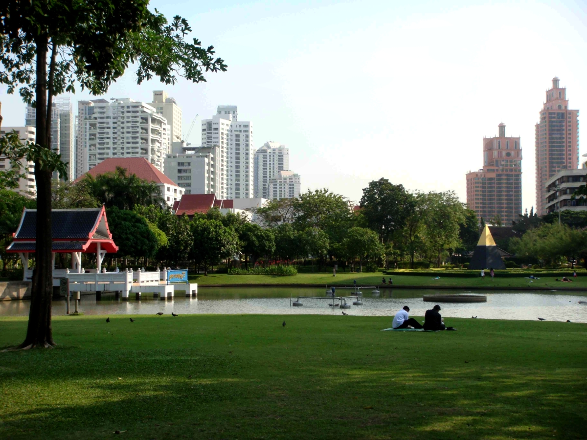 Bangkok, In the Park
