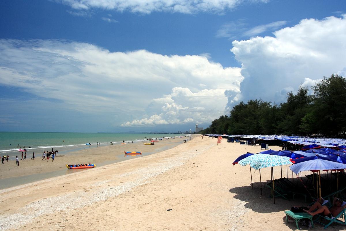 Cha Am, Beach Front