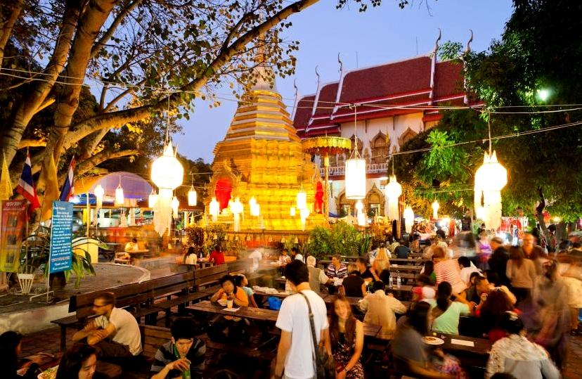 Chiang Mai, Garden Restaurant
