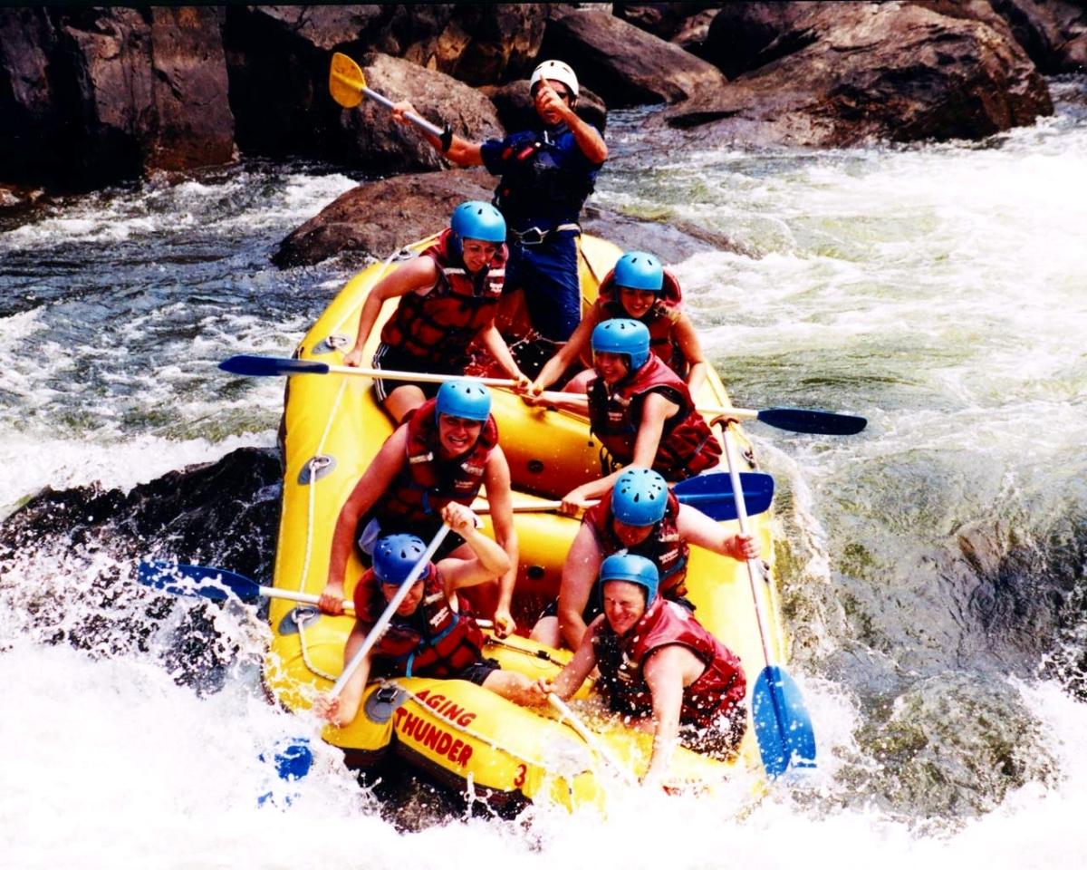 Chiang Mai, River Rafting
