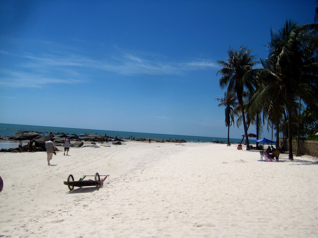 Hua Hin, beautiful beach
