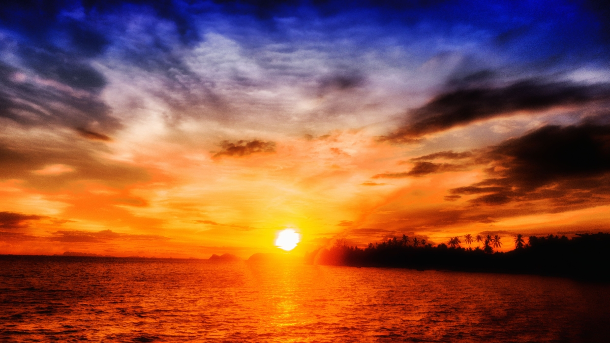 Koh Phangan, Sundown