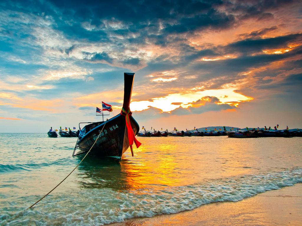 Krabi, Taxi Boat